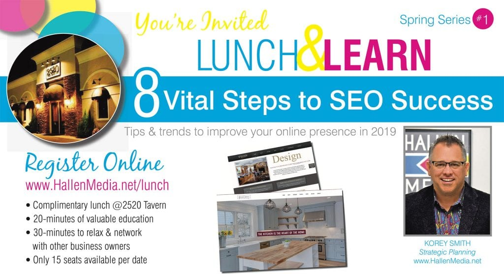 Lunch & Learn​ March 2019